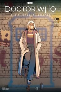 [Doctor Who: The 13th Doctor #8 (Cover A Sposito) (Product Image)]