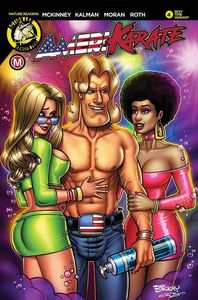 [Amerikarate #4 (Cover C Perillo Sexy Time) (Product Image)]
