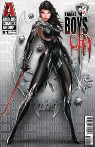 [I Make Boys Cry #1 (Cover C Tyndall Wraparound Lenticular) (Product Image)]