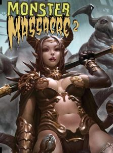 [Monster Massacre: Volume 2 (Hardcover) (Product Image)]