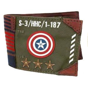 [Marvel: Captain America: Wallet: Vintage Army (Product Image)]
