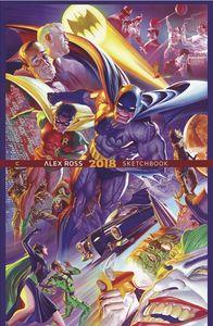 [Alex Ross 2018 Sketchbook (Signed & Numbered Hardcover) (Product Image)]