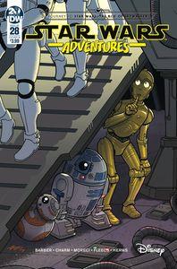 [Star Wars Adventures #28 (Cover B Fleecs) (Product Image)]