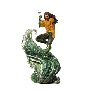 [DC: Aquaman Movie: Art Scale Statue: Aquaman (Product Image)]