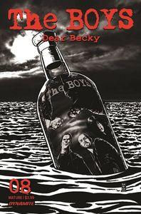 [The Boys: Dear Becky #8 (Robertson Line Art Premium Bonus Variant) (Product Image)]
