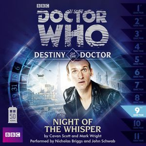 [Doctor Who: Destiny Of The Doctor 9: Night Of The Whisper CD (Product Image)]