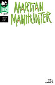 [Martian Manhunter #1 (Blank Variant Edition) (Product Image)]