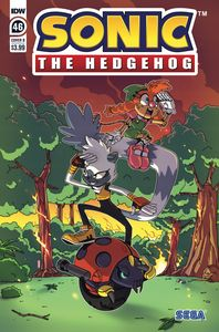 [Sonic The Hedgehog #46 (Cover A Jampole) (Product Image)]