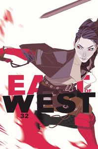 [East Of West #32 (Cover B Women's History Month Variant) (Product Image)]