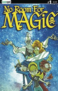 [The cover for No Room For Magic #1 (Cover A Ramos)]