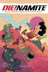 [Die!Namite #2 (Cover G Peanuts Homage Bonus Variant) (Product Image)]