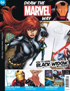 [Draw The Marvel Way #4 (Product Image)]