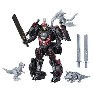 [Transformers: Studio Series Action Figure: Deluxe Drift With Baby Dinobots (Product Image)]