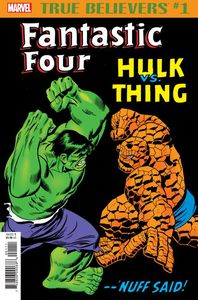 [True Believers: Fantastic Four: Hulk Vs Thing #1 (Product Image)]