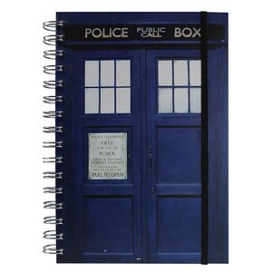 [Doctor Who: Notebook: TARDIS (Product Image)]