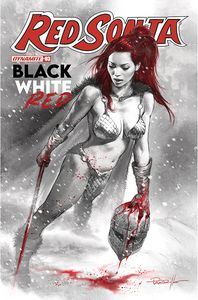 [Red Sonja: Black White Red #3 (Cover A Parrillo) (Product Image)]