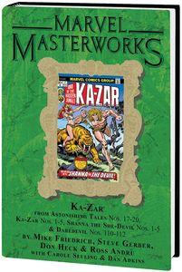 [Marvel Masterworks: Ka-Zar: Volume 2 (Dm Variant Edition 257 Hardcover) (Product Image)]