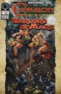 [Carson Of Venus/Warlord Of Mars #1 (Main Cover Kaluta) (Product Image)]