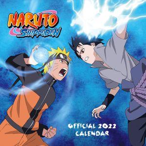 [Naruto Shippuden: 2022 Square Calendar (Product Image)]