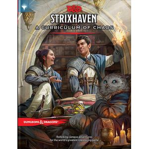 [Dungeons & Dragons: Strixhaven: Curriculum Of Chaos: Adventure Book (Hardcover) (Product Image)]