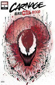 [Carnage: Black White & Blood #1 (Momoko Variant) (Product Image)]