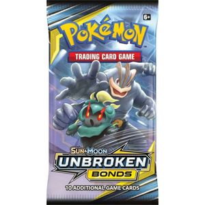 [Pokemon: Trading Card Game: Booster Pack: Sun & Moon 10 Unbroken Bonds (Product Image)]