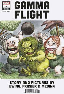 [Gamma Flight #1 (Andrews Variant) (Product Image)]