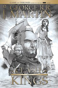 [George R.R. Martin's A Clash Of Kings #13 (Rubi Black & White Variant) (Product Image)]