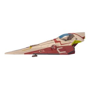 [Star Wars: Attack Vehicles 2013: Class 2 Wave 1: Obi Wan Starfighter (Product Image)]