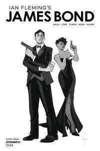 [James Bond #4 (Richardson Black & White Tint Variant) (Product Image)]