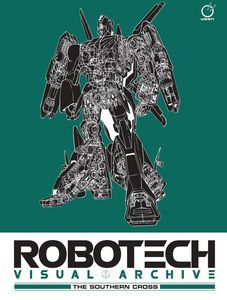 [Robotech Visual Archive: The Southern Cross (Hardcover) (Product Image)]