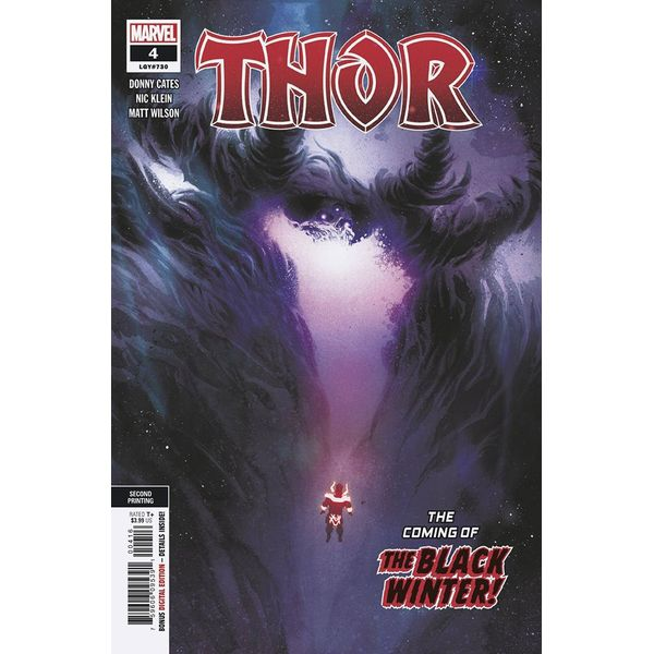 [The cover for Thor #4 (2nd Printing Variant)]