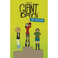 [John Allison signing Giant Days: Early Registration (Product Image)]