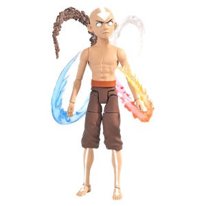 [Avatar: The Last Airbender: Deluxe Action Figure: Final Battle Aang (Series 4) (Product Image)]