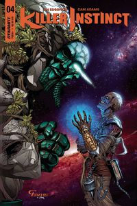 [Killer Instinct #4 (Cover C Adams Exclusive Subscription Variant) (Product Image)]