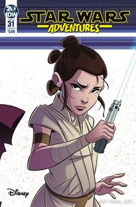 [Star Wars Adventures #31 (Cover A Florean) (Product Image)]