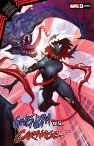 [King In Black: Gwenom Vs Carnage #1 (Ryan Brown Variant) (Product Image)]
