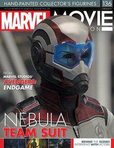 [Marvel Movie Figurine Collection #136: Nebula QR Suit (Product Image)]