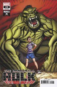 [Immortal Hulk #29 (Bradshaw Marvels X Variant) (Product Image)]