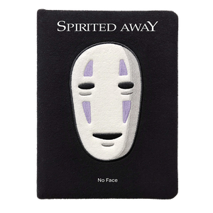 [Spirited Away: No Face: Plush Journal (Product Image)]