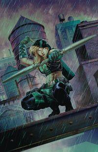 [The cover for Robyn Hood: Vigilante #1 (Cover A Coccolo)]
