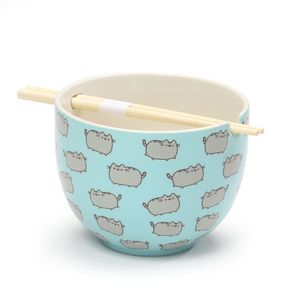 [Pusheen: Rice Bowl With Chopsticks (Product Image)]