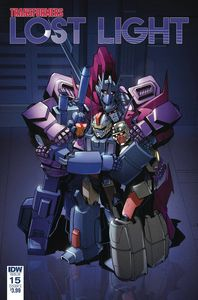 [Transformers: Lost Light #15 (Cover A Lawrence) (Product Image)]