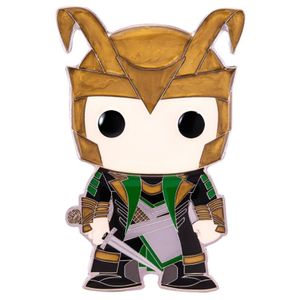 [Marvel: Loungefly Large Enamel Pop! Pin: Loki (Product Image)]