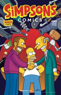 [The cover for Simpsons Comics #243]