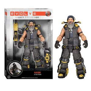 [Evolve: Legacy Collection Action Figures: Hank (Product Image)]