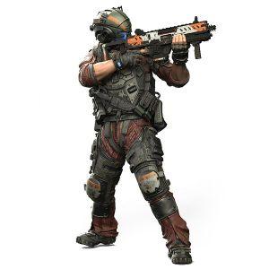 [Titanfall 2: Colour Tops Action Figures: Pilot (Product Image)]