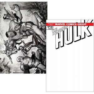 [Incredible Hulk #181 (Facsimile Blank Granov Variant Set) (Product Image)]