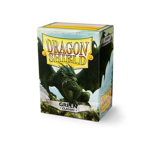 [Dragon Shield: Card Sleeves: Classic Green (Box Of 100) (Product Image)]