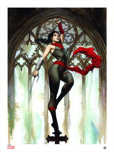 [Marvel Comics: Giclee Print: Elektra By Adi Granov (Signed) (Product Image)]